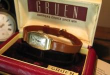 049_Gruen 1930′s レディース アールデコ アンティークウォッチ