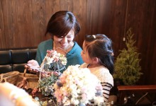 KUMAMOTO AT LAvie SWEETS BAR/SPECIAL DAY  FLOWER ARTIST 「DRY FLOWER ARRANGE…。ACOUSTIC music。Antique…。」